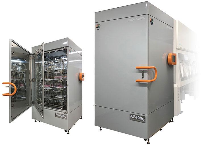 AC408xy アイソレートCO2インキュベータ(自動搬送機能付き)